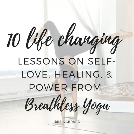Breathless Yoga Teacher Training with Diana Vitantonio