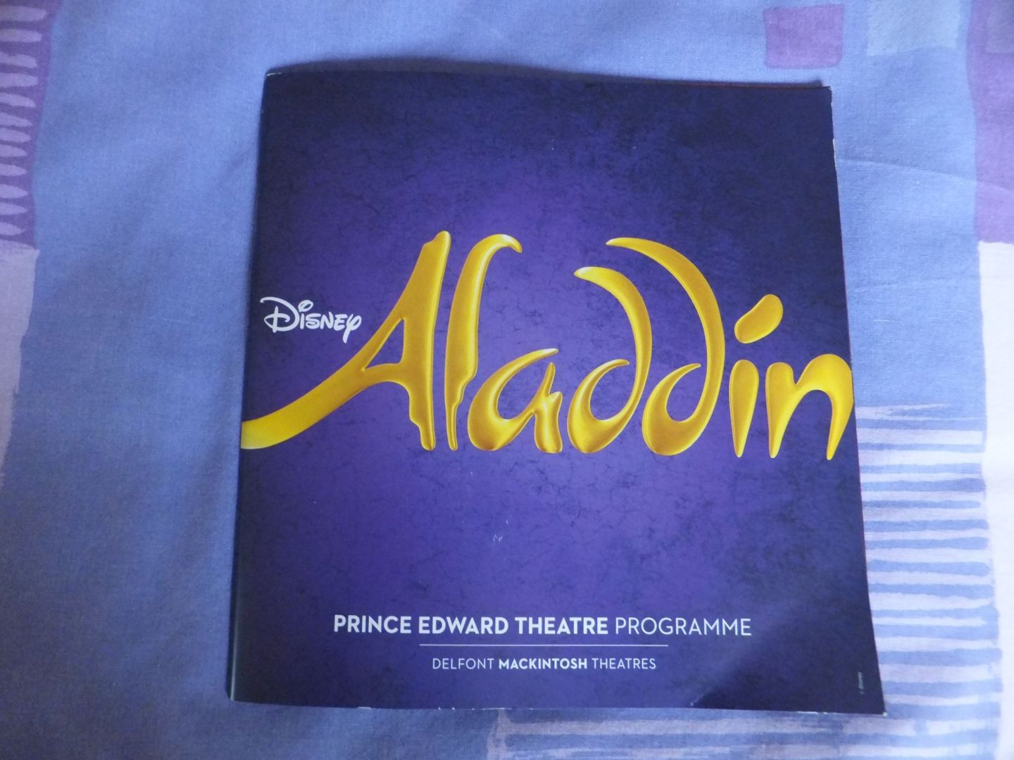 Review: Aladdin, London