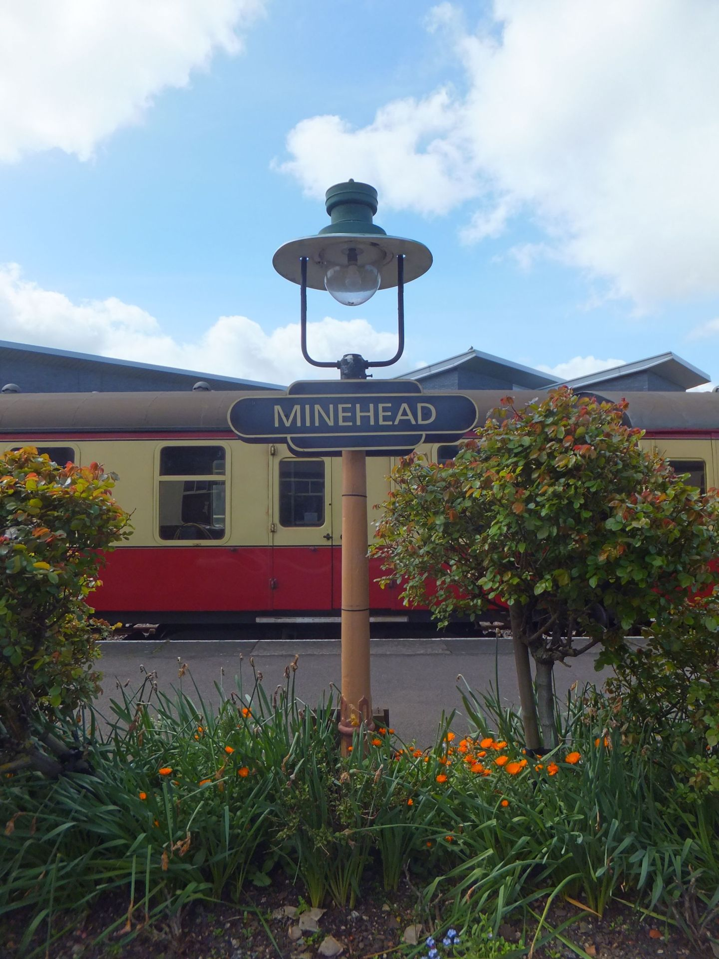 Taking the West Somerset Railway to Minehead