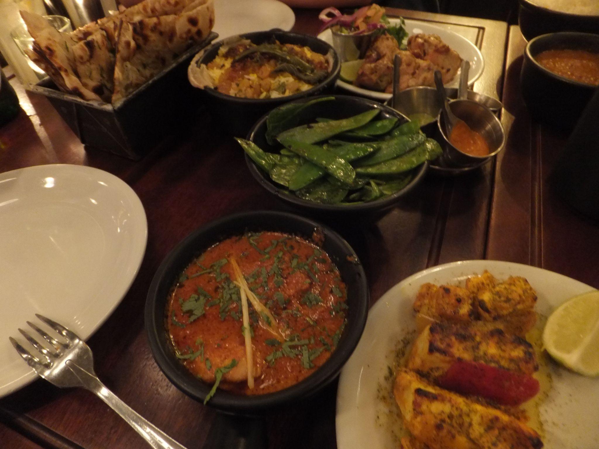 Meal at Dishoom