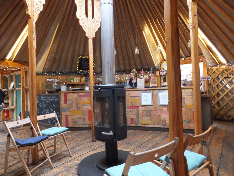 Brunch at Yurt Lush, Bristol