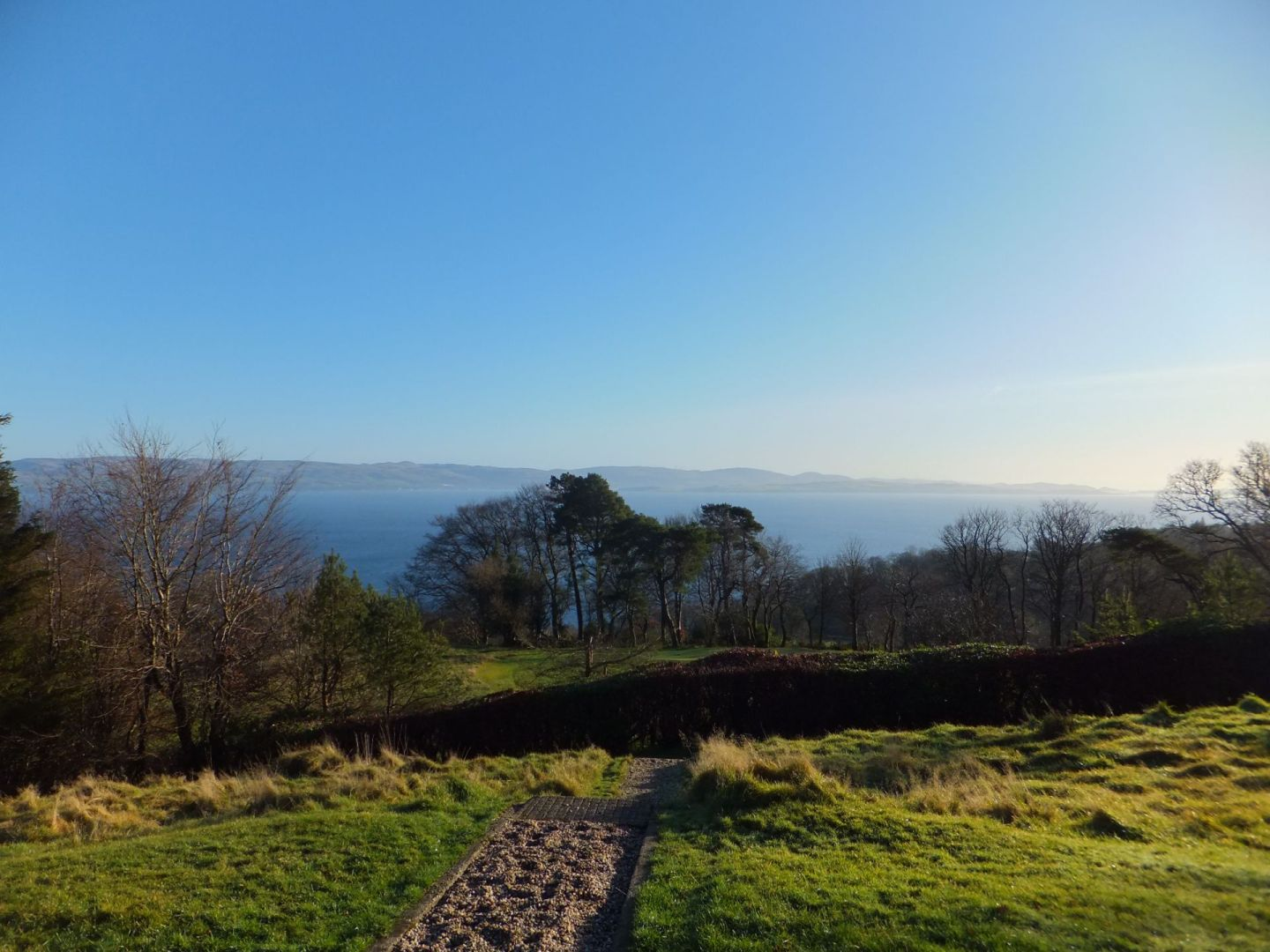 New Year on the Isle of Bute