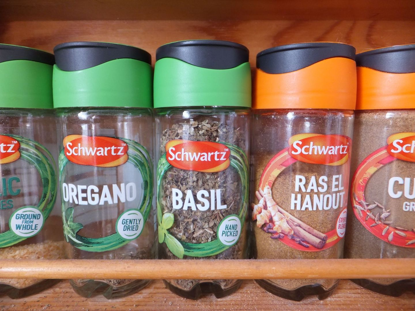 Cooking fresh meals with Schwartz dried herbs