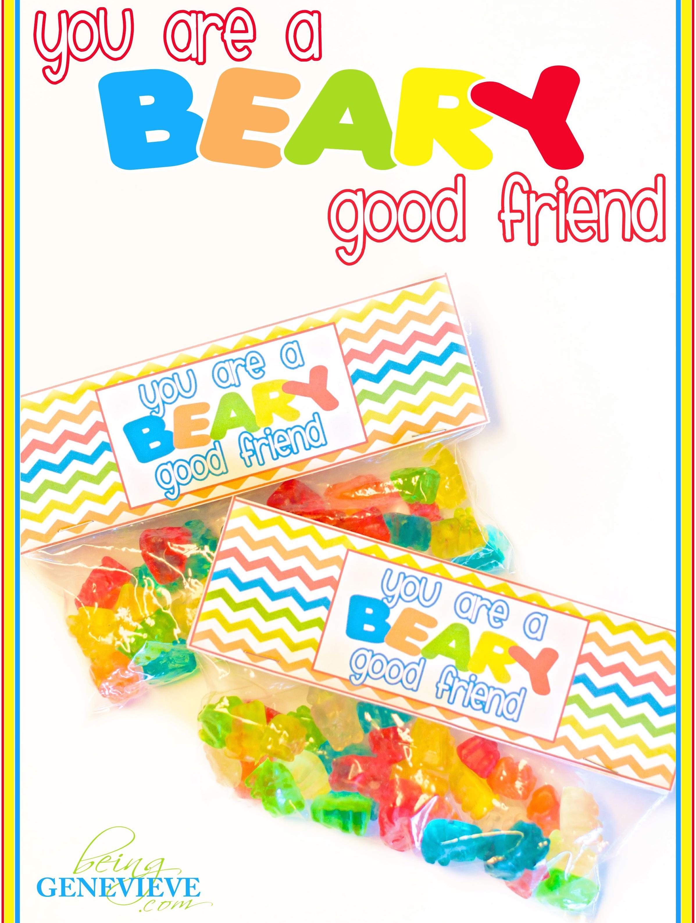 Beary Good Friend