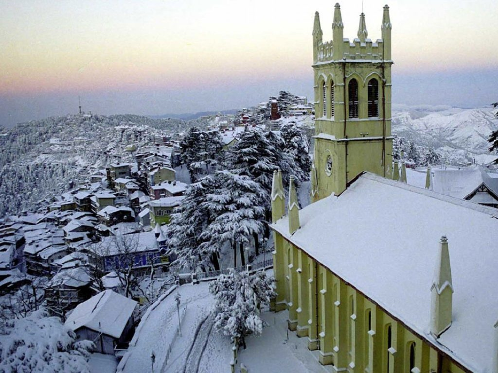 Shimla-Manali-Chandigarh by Car 6 Nights & 7 Days