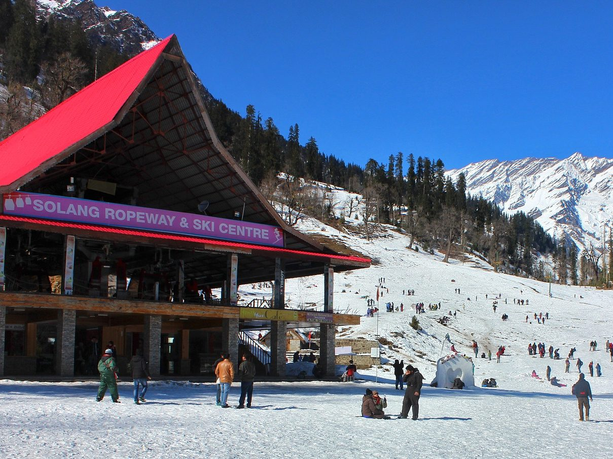Alluring Manali (Delhi Manali Tour Package by Car)