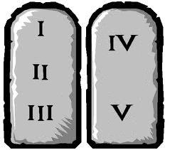 5 commandments