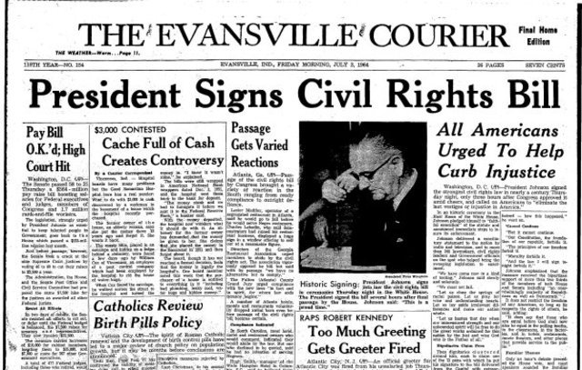 Essay on civil rights act of 1964