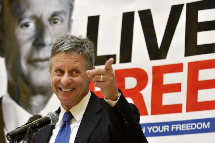 johnson, Libertarian Party