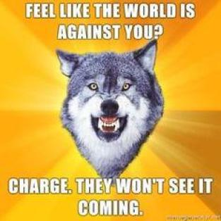 charge-if-the-world-is-against-you-wolf-meme