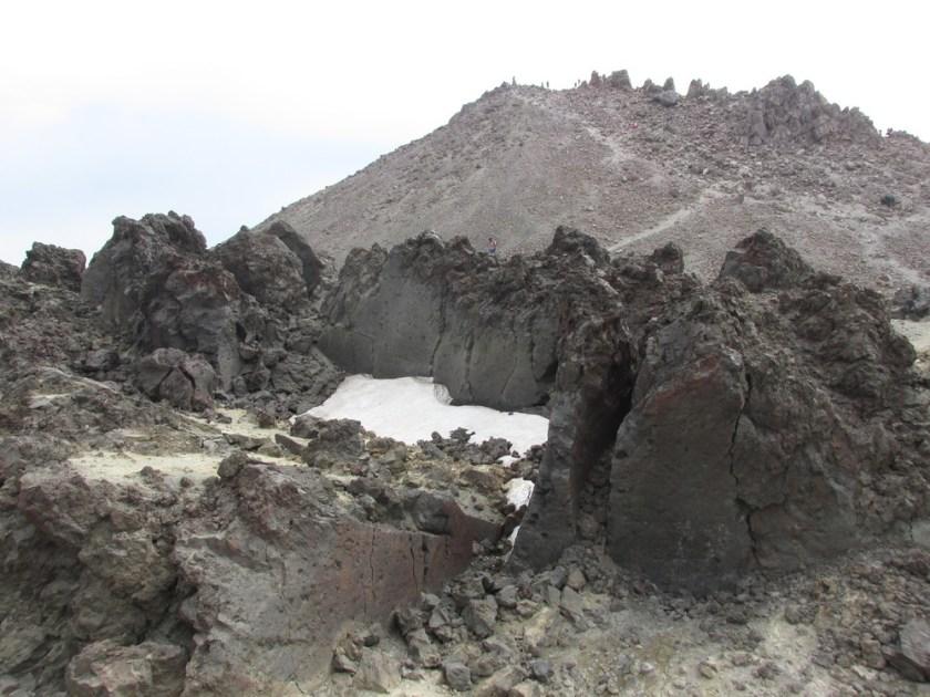 Lassen Peak from the Crater