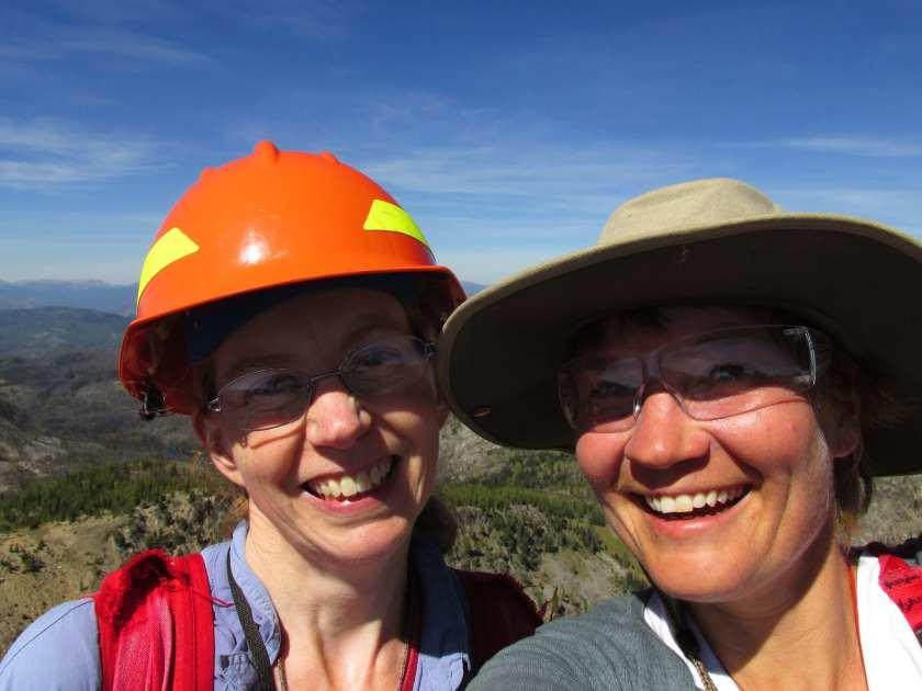 Erica and Nastassja - Mt Tiffany