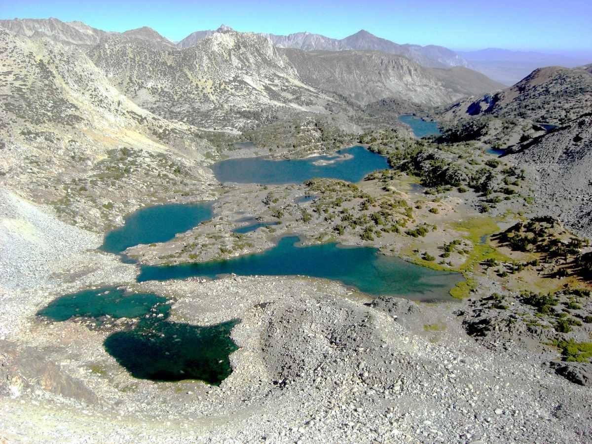 Alpine Lichens: Bishop Pass, Sequoia – Kings Canyon N.P., California