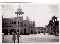 railway station 1950s