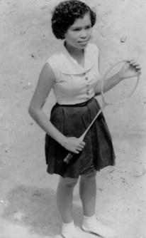 School girl Hafsah