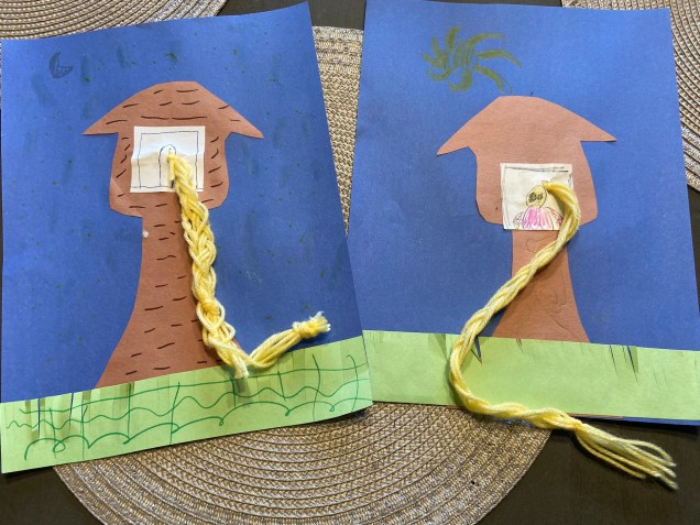 Rapunzel Braid Tower Craft