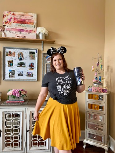 Coffee and Pixie Dust Disney Mom Outfit