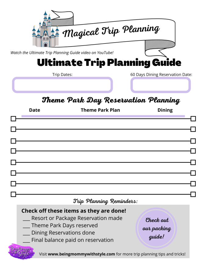 Magical Trip Planning Guide