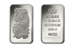 Most expensive metal: Rodium