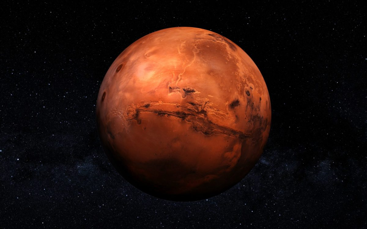 see mars without telescope