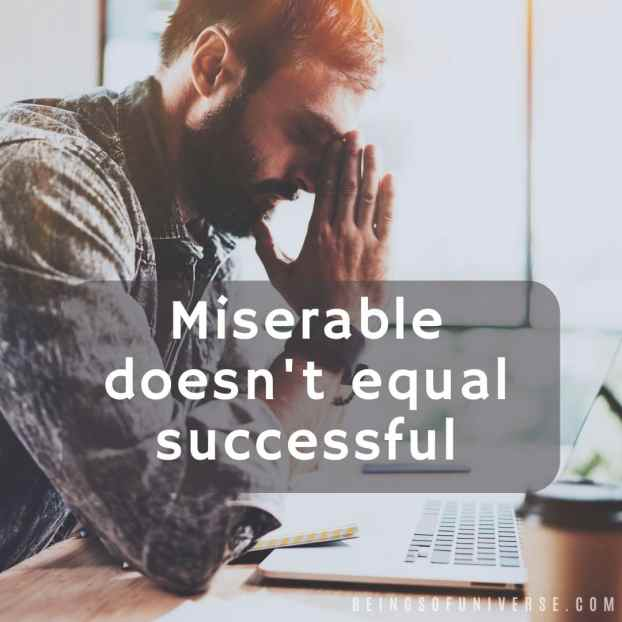 miserable work life