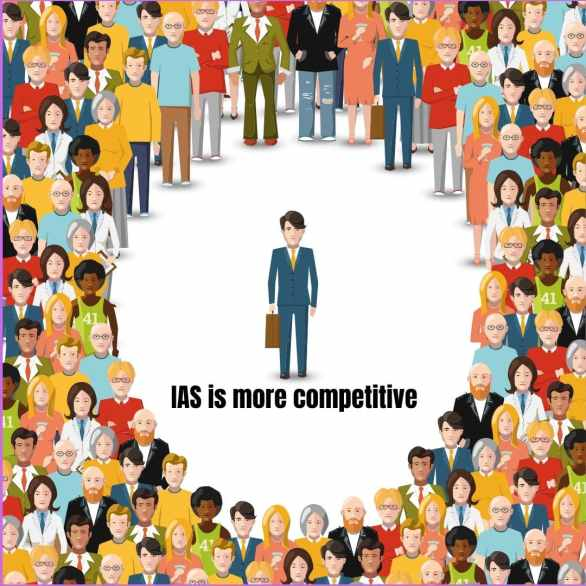 ias competition vs ies