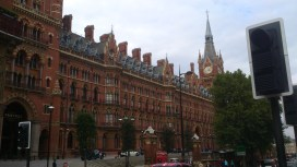 St Pancras from the front