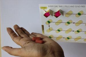 99 dots medicine dispensing tablet