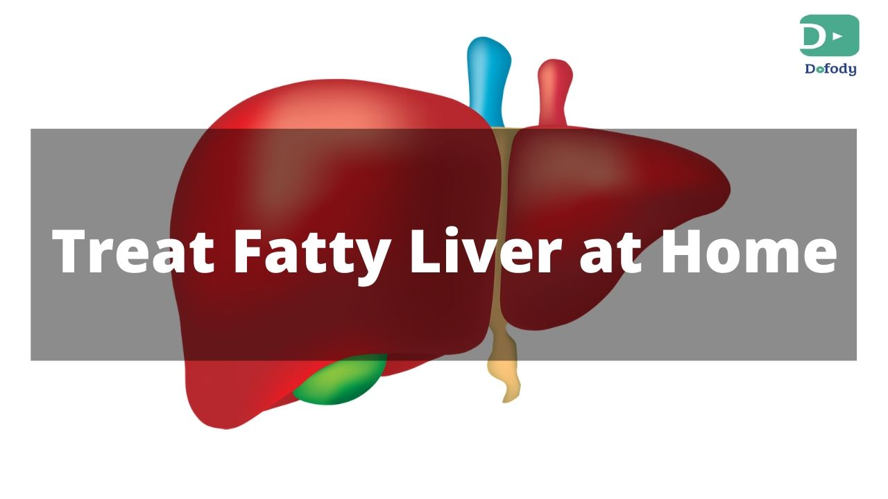 treat fatty liver disease from home