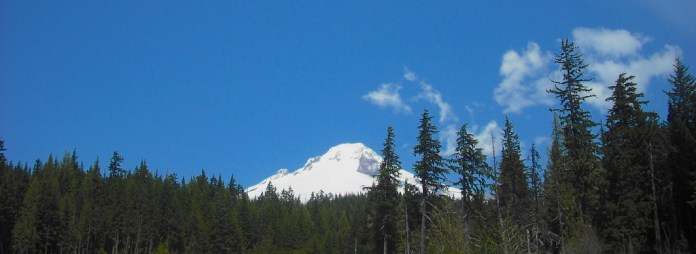 Mt. Hood from US 35 in Hood River County. Photo by Tim Graves.