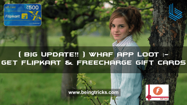 [BIG UPDATE] Whaff App Loot :- Earn Unlimited Flipkart ...