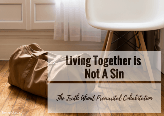 Scripture against 2 opposite sex living together