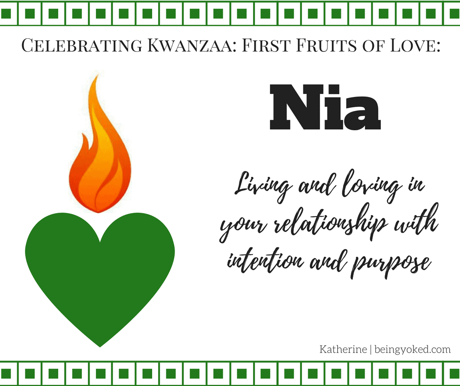 Nia: Finding Your Purpose in the Kwanzaa Principle of Purpose