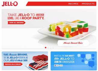 Jell-o brand strategy