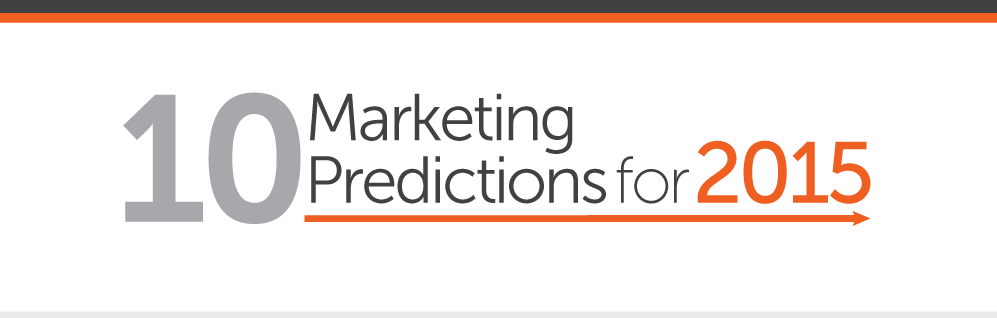 10 Marketing Predictions for 2015 [INFOGRAPHIC]