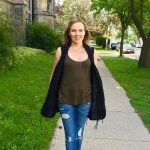 The Long Vest + Monday Mode' New Weekly Link Up