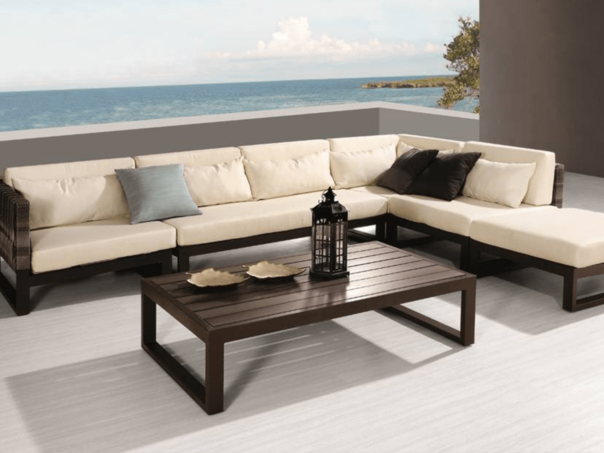 7 Outdoor Living Spaces to Change Your View of Home - Be ... on Living Spaces Outdoor Sectional id=96029