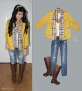 BeInspireful - Old Fall Outfit 5