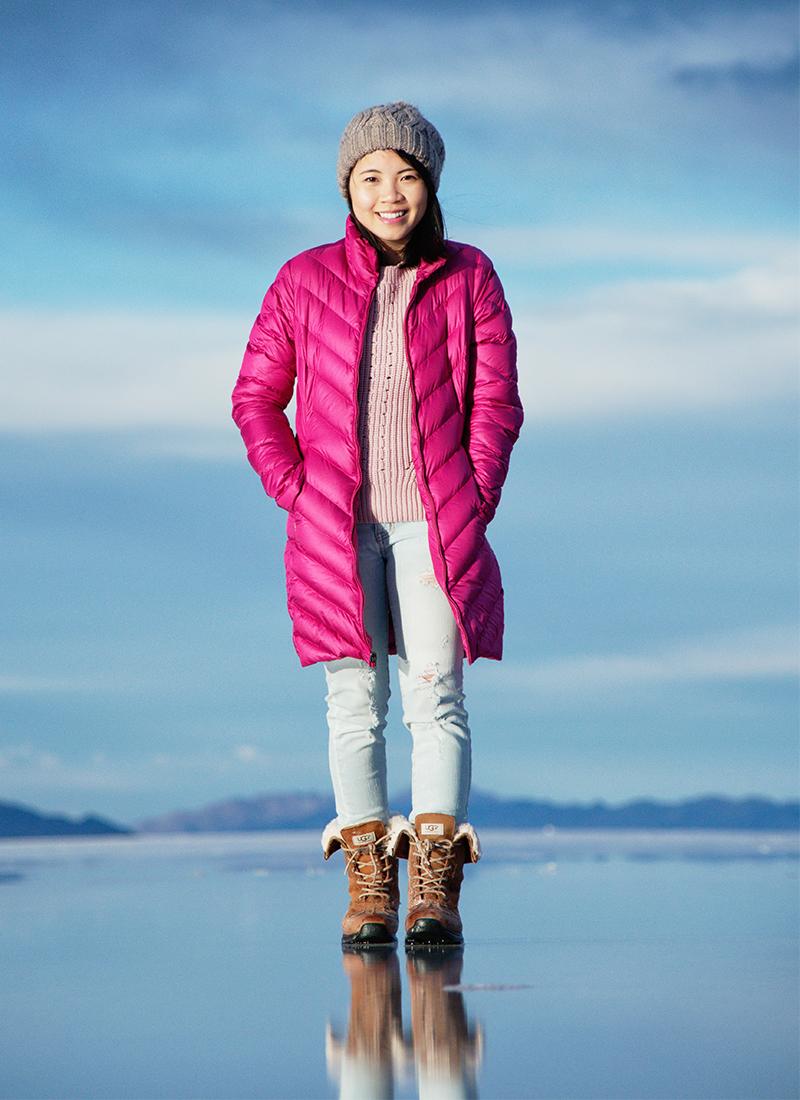 Outfit of the Day – Bonneville Salt Flats