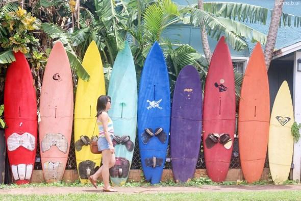 BeInspireful - Hawaii Colorful Surfboards 3
