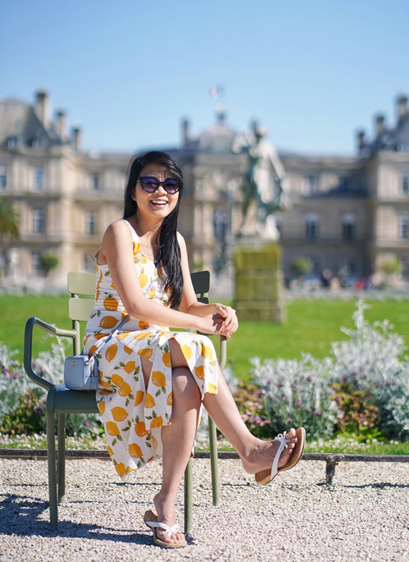 Outfit of the Day: Lemon Print Dress