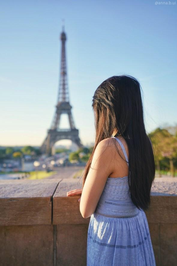 BeInspireful - Pairs Blue Dress - Eiffel Tower 5