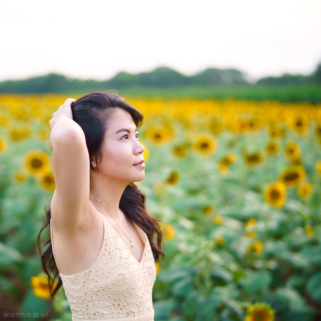 BeInspireful - Sunny Sunflower Field Yellow Dress 3