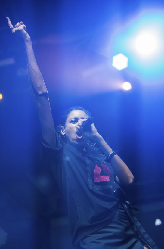 AlunaGeorge at Lollapalooza 2016