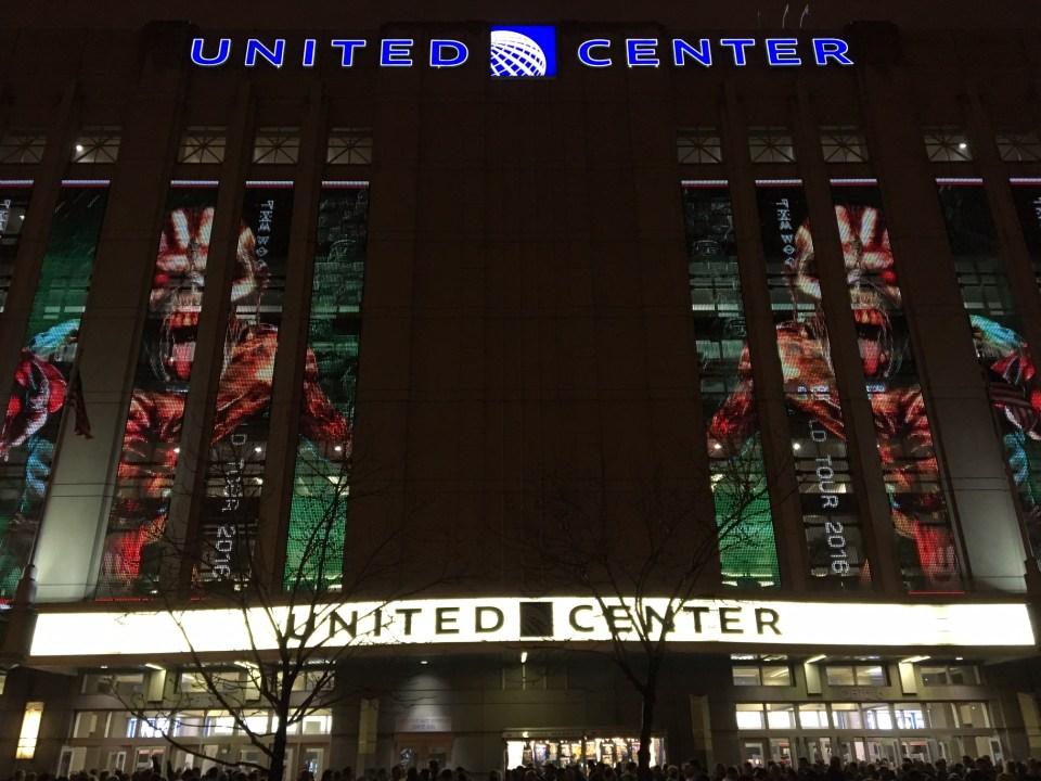 Iron Maiden Chicago United Center 5