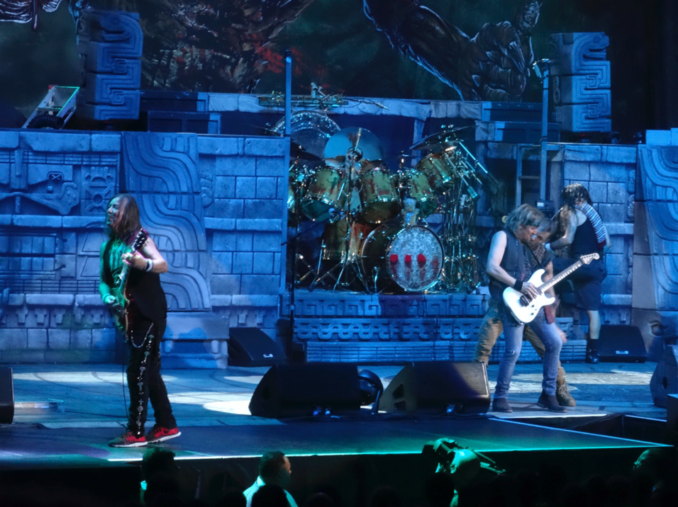 Iron Maiden Chicago United Center 9
