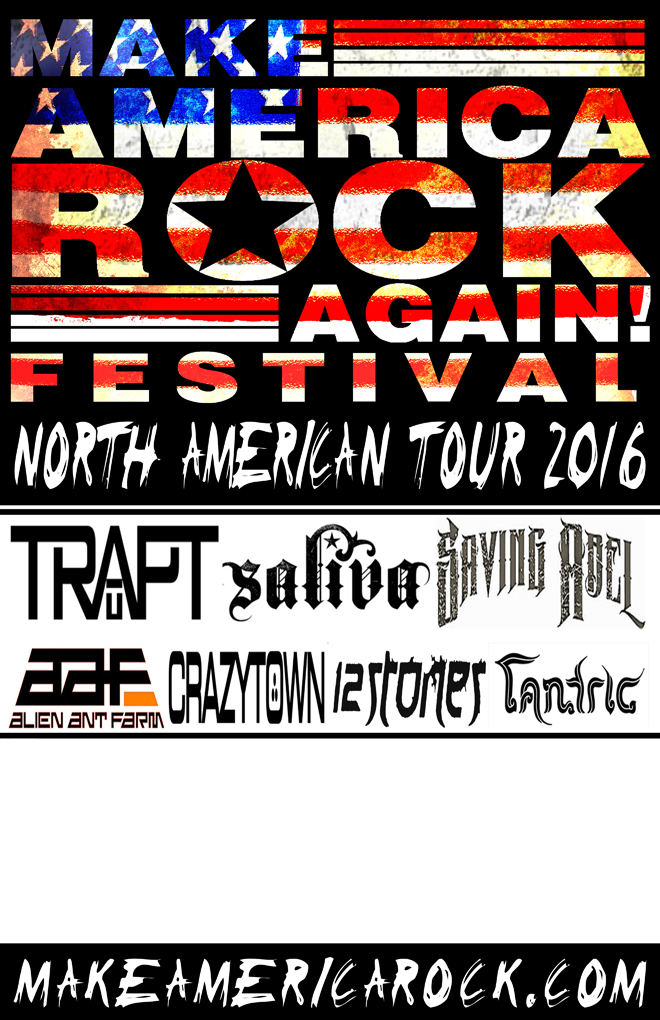 Make America Rock poster