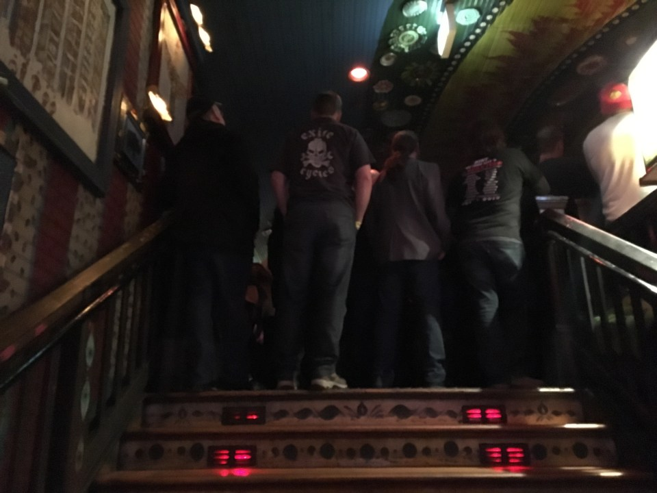 The Cult at House of Blues 2016 Stairs