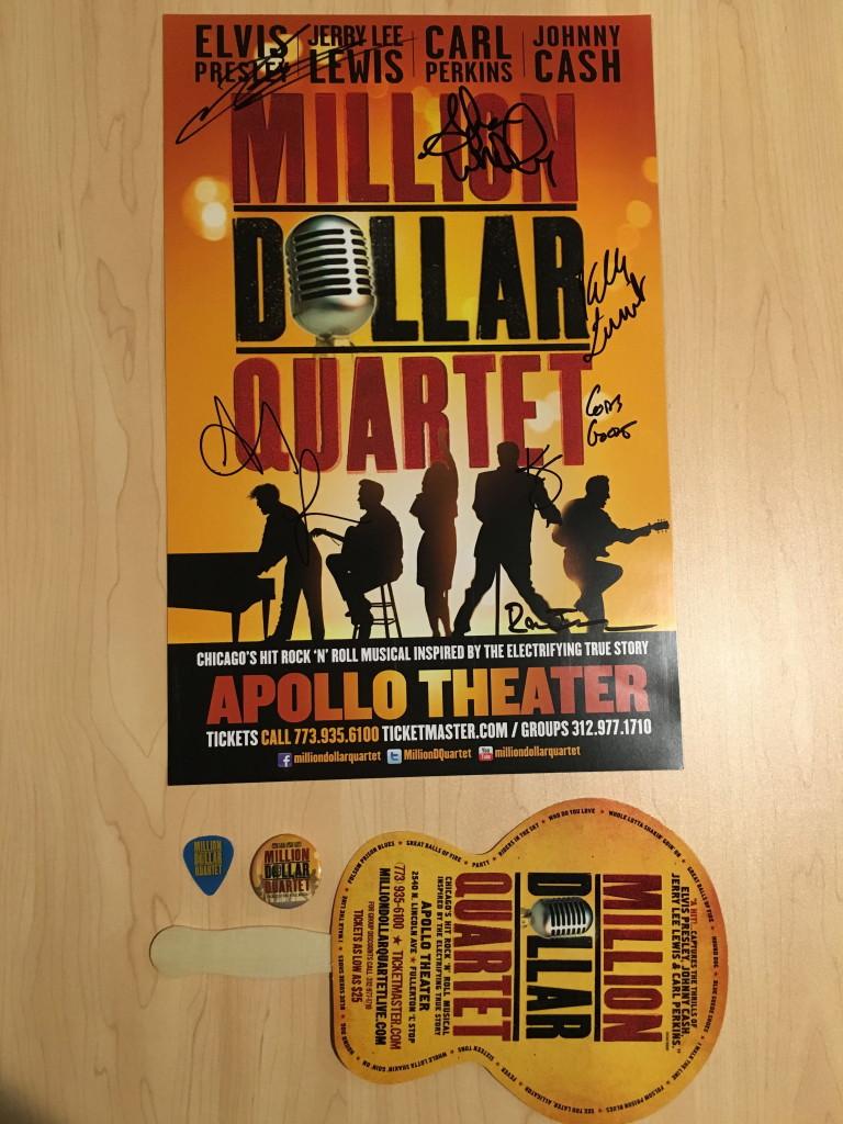 milliion dollar quartet poster