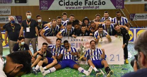 FC Porto conquista 'dobradinha' ao vencer Benfica na final da Taça de Portugal de andebol